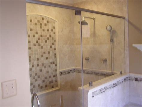 bathroom tiled showers 30 pictures of porcelain tile in a shower