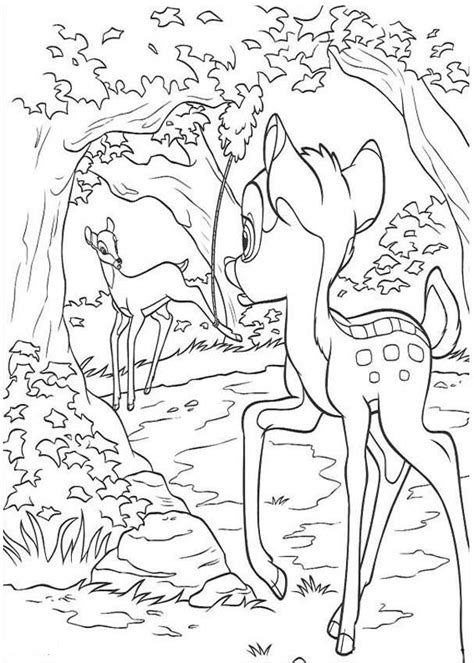 bambi 2 coloring pages coloring home