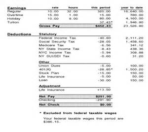 adp earning statement template adp pay stub template excel autos weblog
