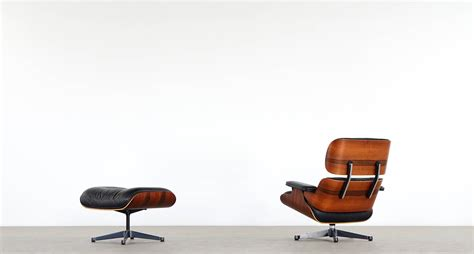 Vitra Charles Eames Lounge Chair And Ottoman In Rio Vitra Eames Lounge Chair And Ottoman