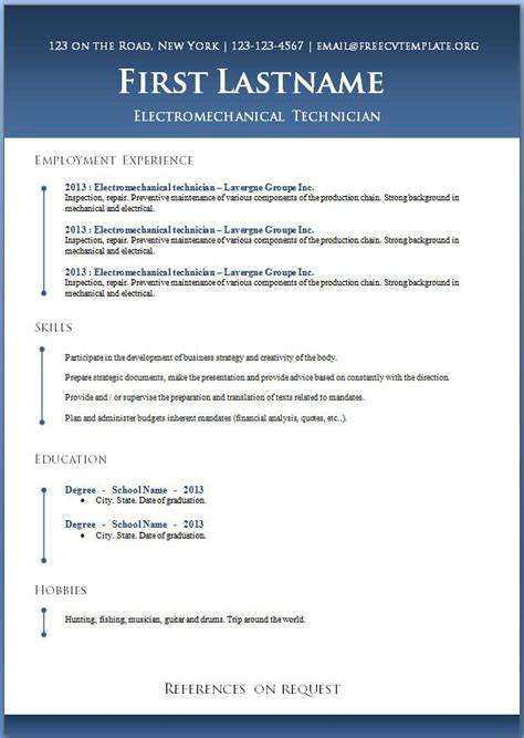 Plantilla De Curriculum Microsoft Word 17 Best Ideas About Curriculum Vitae Para Descargar On Descargar Curriculum Vitae