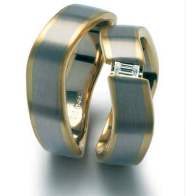 Hochzeitsringe Gold by Trauringe Eheringe Partnerringe Aus Edelstahl Titan Und Platin