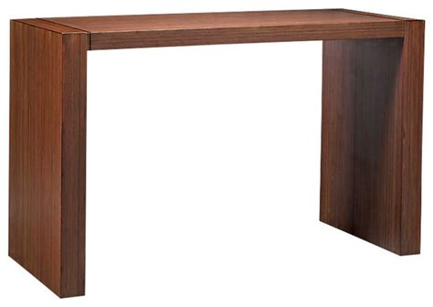 how tall should a side table be juniper tall console table contemporary console tables