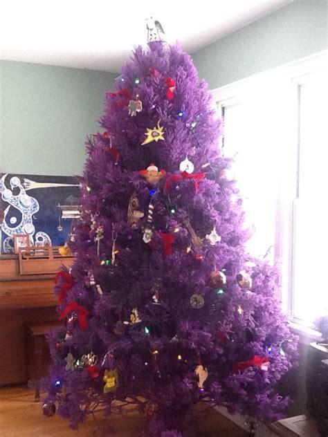 purple christmas tree 65 tree colour combinations to drool