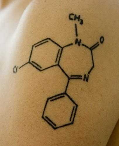 chemical structure tattoo science designs gallery