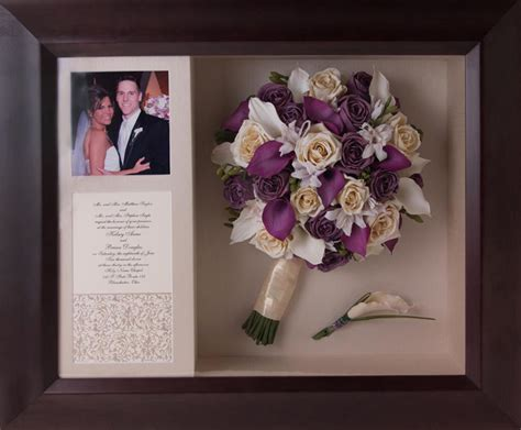 display your wedding keepsakes with a shadow box the 530