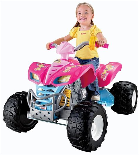 power wheels for girls 13 amazing electric quads for kids