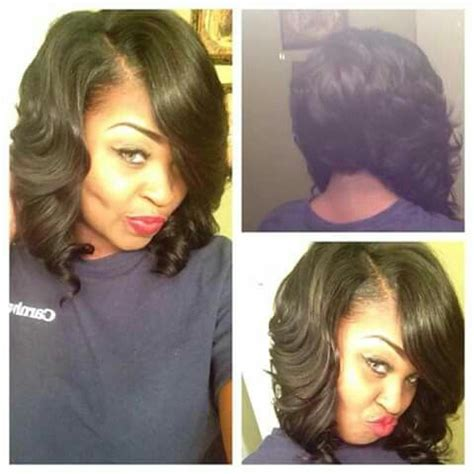 pictrue of a weave feather hairstyle 17 best ideas about feathered bob on pinterest black bob