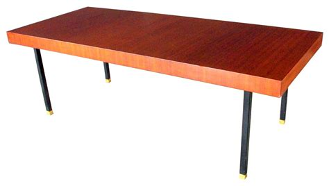 table basse vintage acajou 233 es 50 design market