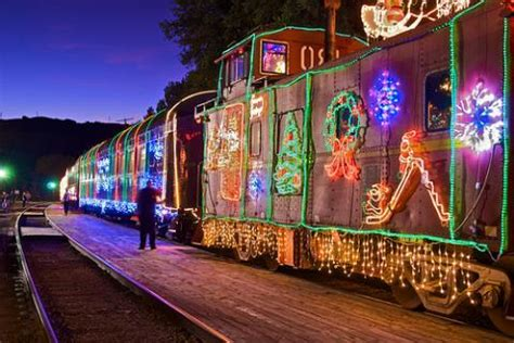 christmas lights freemont ca east bay polar express niles of lights 510 families