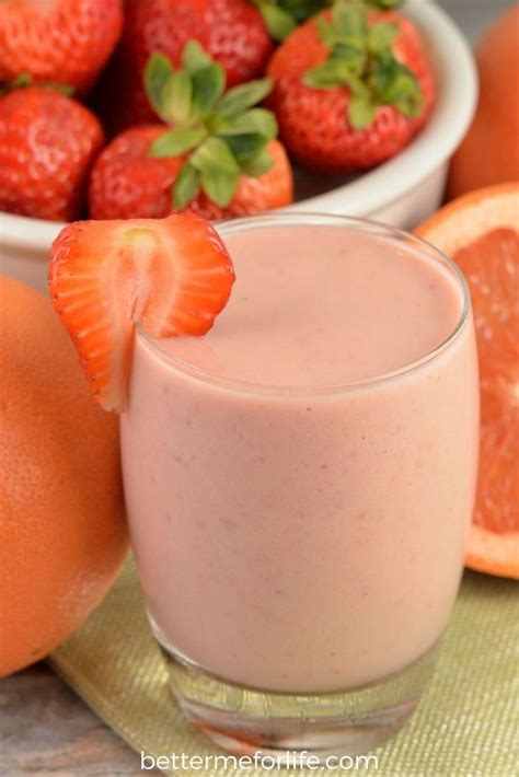 Strawberry Grapefruit Detox Smoothie by 9516 Best Images About Drinks On