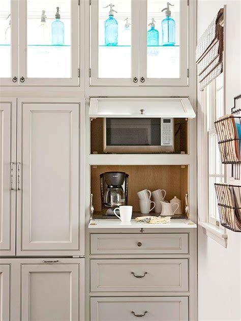 kitchen appliance storage cabinet 25 best ideas about microwave cabinet on