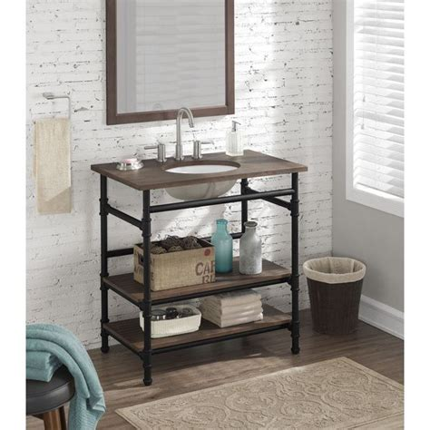 1000 ideas about open bathroom vanity on open