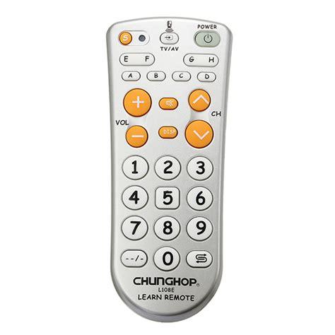 Chunghop Universal Learning Ir Remote L336 chunghop l108e mini universal learning remote for tv dvd sat alex nld