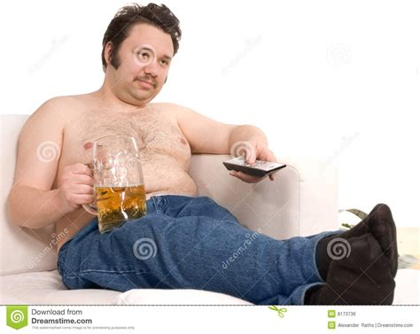 slob on couch couch potato royalty free stock image image 8173736