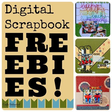 free scrapbooking templates to digital scrapbooking freebies