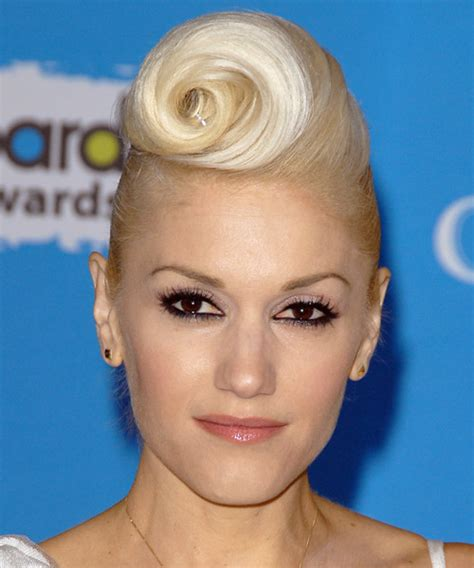 how to roll front of hair gwen stefani hairstyles in 2018