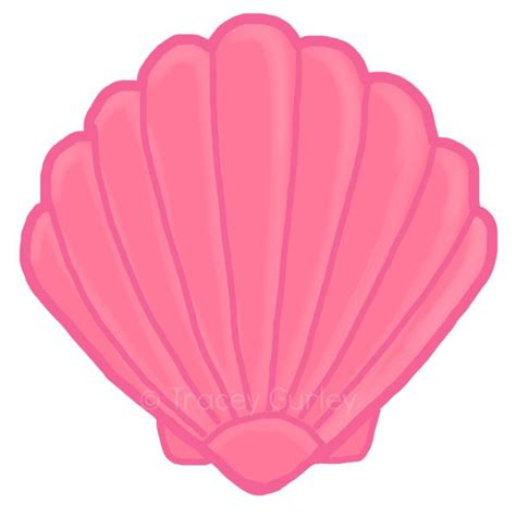 sea shell clip the gallery for gt open seashell clipart