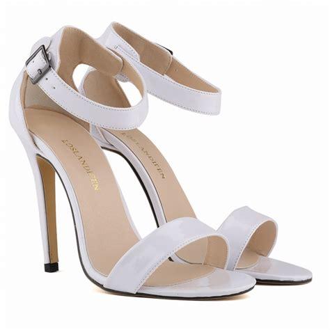 Sandal Wedges Bunga Af13 11 sandals ankle wrap peep toe thin heels pumps shoes 11cm high heels summer shoes