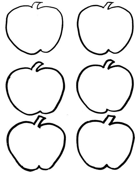 red apple coloring page six red apple fruit coloring pages fruit and veggie