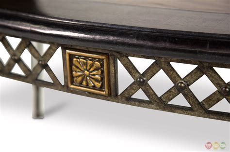 wood top metal base coffee table traditional coffee table w wood top decorative