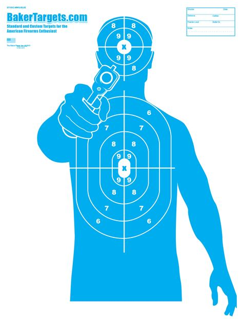 printable pistol targets 8 5 x 11 printable shooting targets 8 5 x 11 pictures to pin on