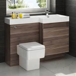 Walnut Bathroom Furniture Serene 1200mm Walnut Complete Bathroom Furniture Suite With Toilet And Basin 163 409 99 Bathroom