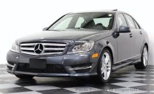 2013 Mercedes C300 4matic Sport 2013 Used Mercedes C Class Certified C300 4matic
