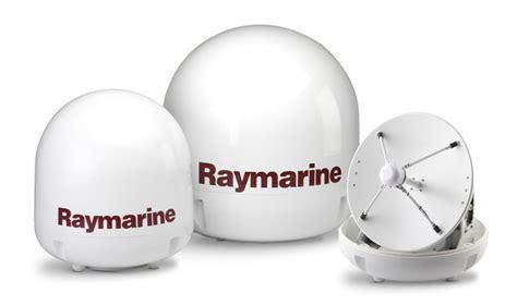 satellite tv antenna features raymarine