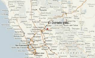 el dorado california map el dorado location guide