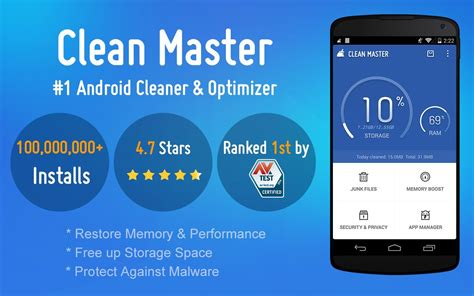 clean master apk for android clean master apk free digitschool