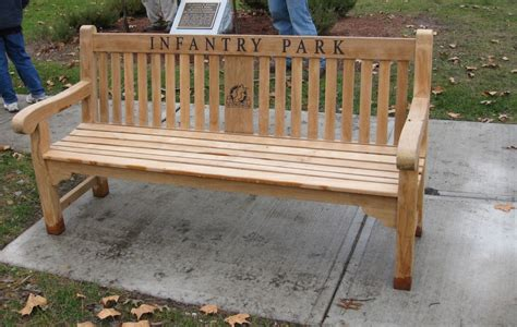 park bench nj engraved benches american bronze stone serving nj