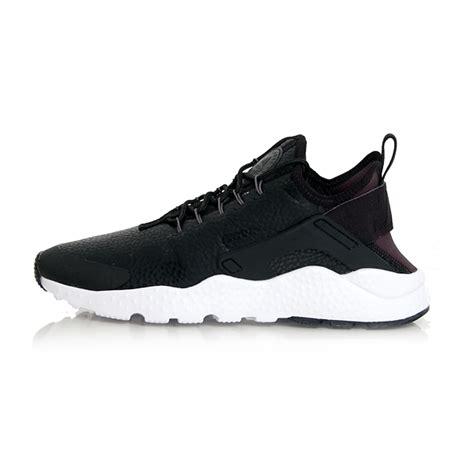 Nike Huarache Run Ultra Black White Premium Quality nike air wmns huarache run ultra premium black grey white 859511 001 gangstagroup