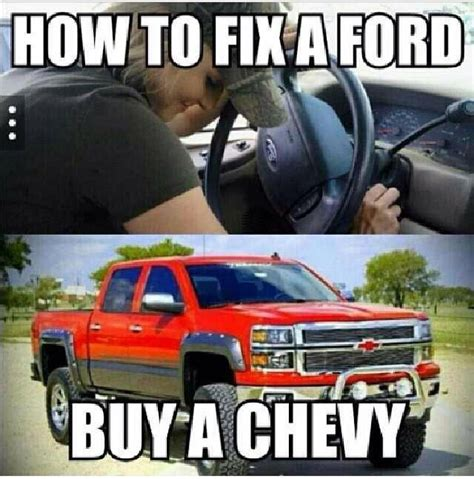 Chevy Sucks Memes - 94 best ford sucks images on pinterest chevy vs ford