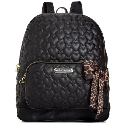 Black Quilted Backpack by Betsey Johnson Quilted Backpack In Black Lyst