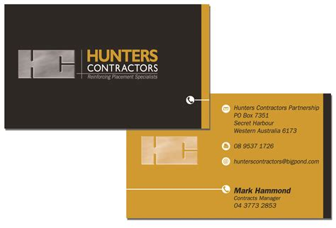 Contractor Business Card Templates Free by 301 Moved Permanently