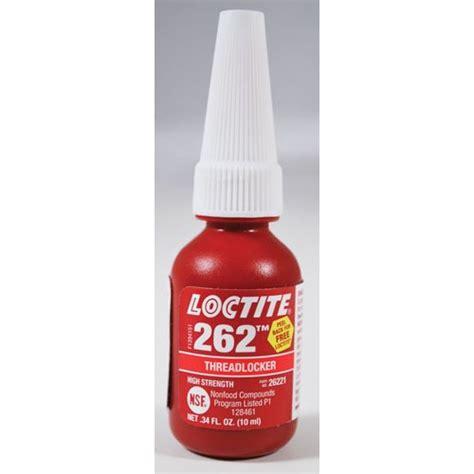 Loctite 262 Threadlocker Medium High Strength Locteti 26241 loctite 262threadlocker 点力图库
