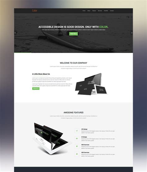 25 latest bootstrap themes free download designmaz awesome one page bootstrap template gallery resume ideas