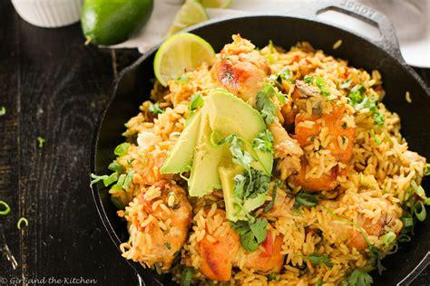 arroz  polloone pot mexican rice  chicken