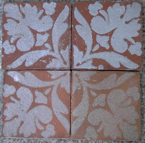 Handmade Tiles - china rustic handmade terracotta tile printed china