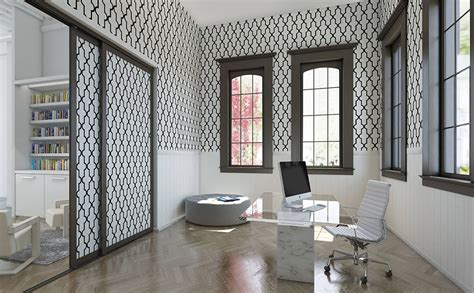 Wallpaper Closet Doors by Wallcoverings Wallpaper Sliding Closet Doors
