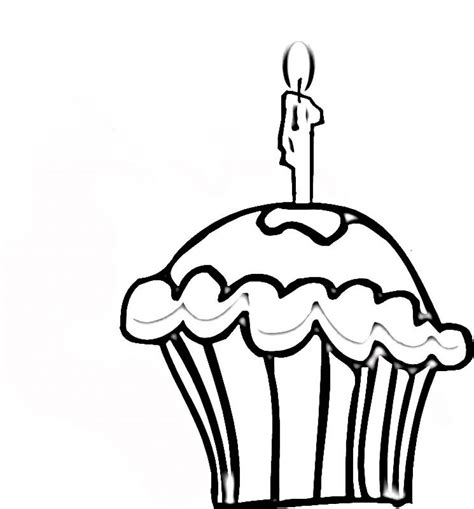 Free Printable Cupcake Coloring Pages For Kids Cupcakes Coloring Page