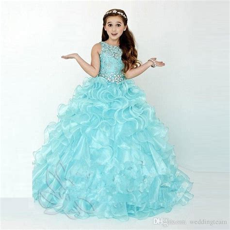 Labella Kode 3t 2 6thn stylish ruffled gown pageant dresses for
