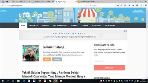 membuat website gratis menghasilkan uang panduan dan cara belajar membuat blog gratis dari blogger