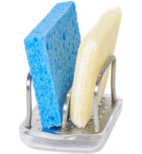 Sponge Rack by Oxo Sponge Holder In Sink Organizers