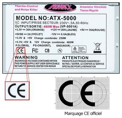 the ce marking on electronic gadgets can have another meaning