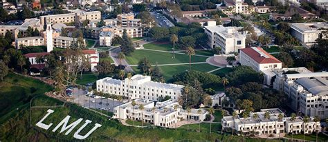Loyola Marymount Mba Employment Statistics by Connections To Los Angeles Loyola Marymount