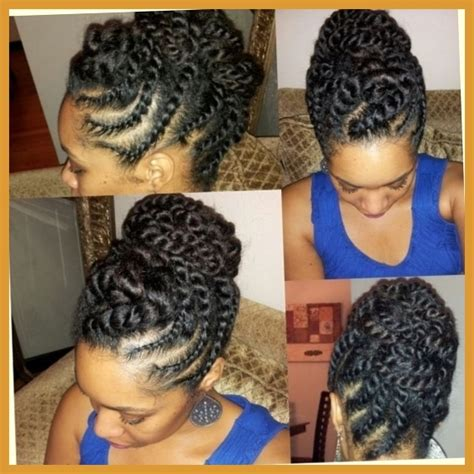 Flat Twist Hairstyles On Relaxed Hair by Hair Flat Twist Updo Protective Style Http