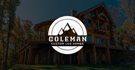 coleman log homes