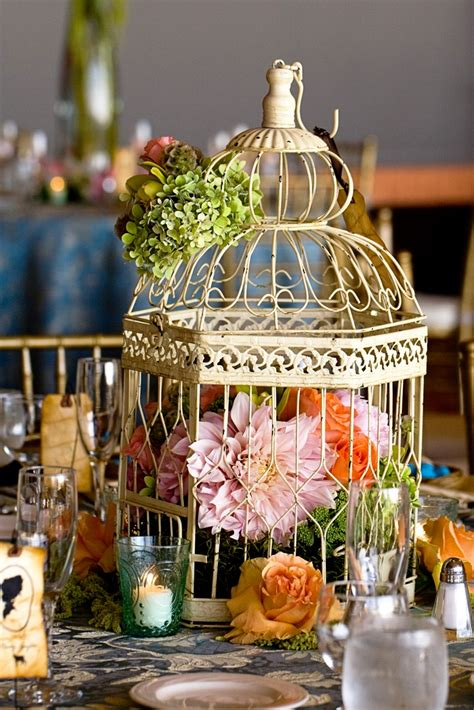 birdcage centerpiece idea ideas centro mesa pinterest